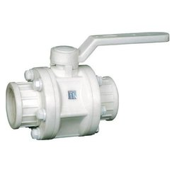 CPI 3 Piece Design PP Ball Valve Screwed End, Size: 1/2- 4 (15 To 100 Mm)