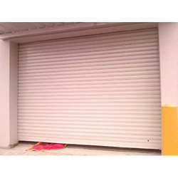 Full Height Rolling Shutter Motorized with Remote