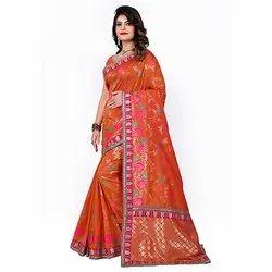 1503 Women's Designer Handloom Silk Saree