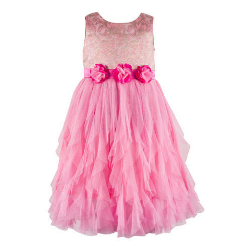 c7728da9afe2 Net And Dupion Party Wear And Wedding Wear Girls Kids Frock