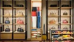 Interior Designing of Handbags Store