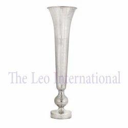 Decorative Metal Aluminum Vase Long Size