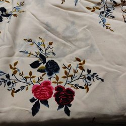 Designer Rayon Dress Fabric