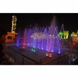 LED Lights Musical Fountain