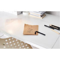 Peva Anti Skid Transparent Desk Mat