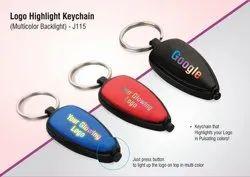 Logo Highlight Keychain