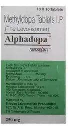 Alphadopa Tablet Methyldopa (250mg)