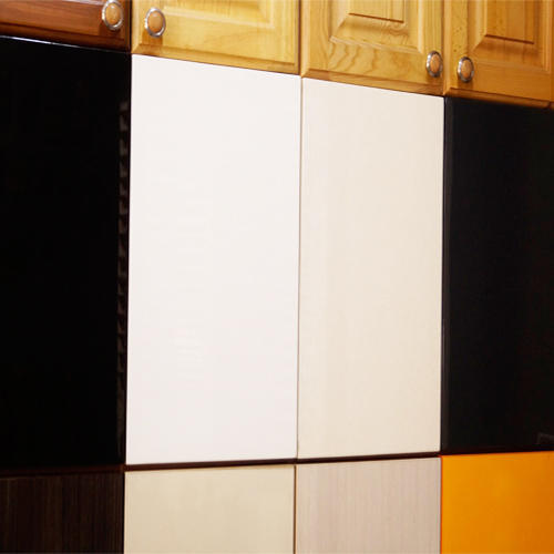 Laminated Modular Kitchen At Rs 1400 Square Feet: Laminated And Acrylic Shutters
