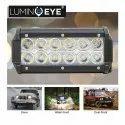 White Aluminium Profile, Pc Lens Lumineye 12 Led 7 Inch Bar Light For Automobile