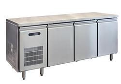 Stainless Steel 2 Star SS Undercounter Refrigerator, For Commercial, Top Freezer