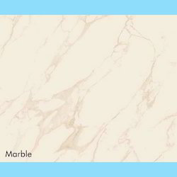 White Marble Floor Tile, Thickness: 5-10 mm