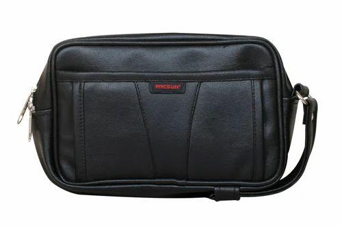 Plain Foam Pacsun Utility Pouch Bags Black Color Shape Square