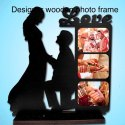 Designer Wooden Photo Frame
