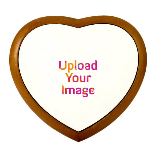 Brown Make Your Own Cute Wooden Heart Frame, Rs 599 /set | ID ...