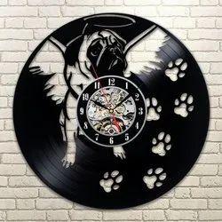 Black Festival Decorative Clocks, Size: 400mm