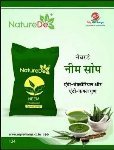 Nature De,ayurvedic Herbal Neem Soap