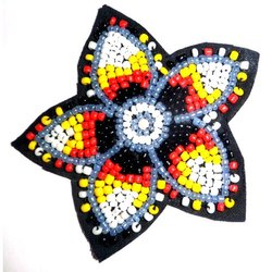 Beaded Table Coasters