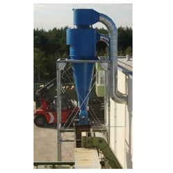 Industrial Cyclones Separator, Size/Dimension: High As 50 Microns