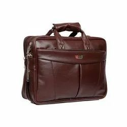 Brown Leather Office Bag