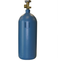 Aluminium, SS Small Argon Gas Cylinders, Capacity: 5-10 L