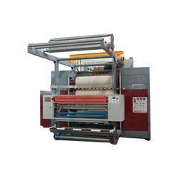 Semi-Automatic Textile Calendering Machine