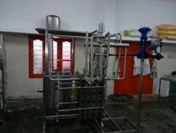 Juice Pasteurization Plant, Capacity: 1000 LPH