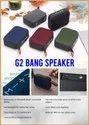 G2 Bang Bluetooth Speaker