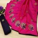 khicha silk saree