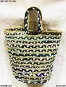 Trendy Jute & Cotton Handbag