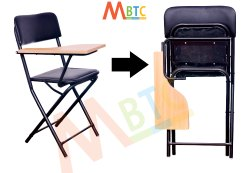 MBTC Ambient Folding Student Writing Pad Training Chair