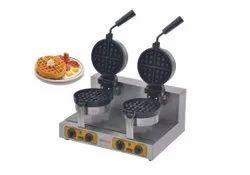 Revolving Double Waffle Baker