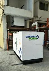 Greaves Commercial Genset 75 KVA, 3-Phase