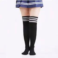 Thigh Length School Socks