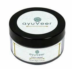 Ayuveer Foot Cream, Packaging Size: 50g, For Foot Care