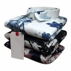 Mens Fancy Printed Cotton Shirt