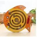 Magantic Fish Wooden Toy, Packaging Type: Box