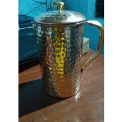 Ravi Rajvi Copper Jugs, For Home, Capacity: 1-5 L