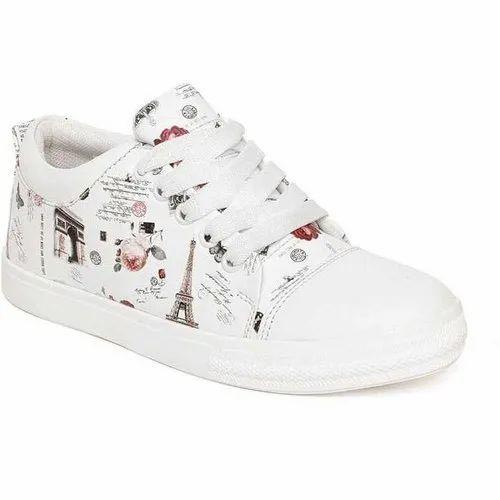 Long Walk Girl Printed Casual Shoes