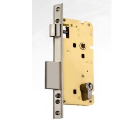 Tri Star Double Door Mortise Lock