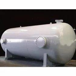 Horizontal Stainless Steel Storage Tank