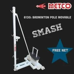 Badminton Pole Movable