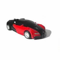 Alloy Deformation 2 in 1 Bugatti Transformer Car