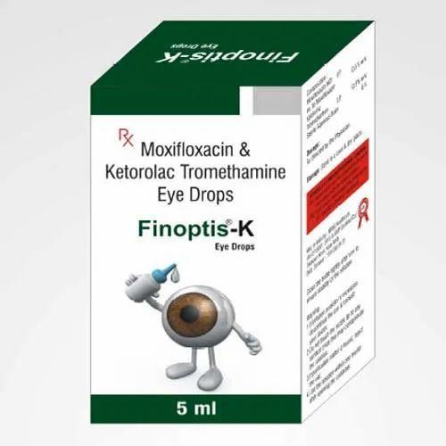 Moxifloxacin and Ketorolac Tromethamine Eye Drop