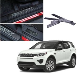 CarSaaz Sill Plate Scuff Plate Foot Step Plate for Land Rover Discovery Sport