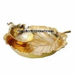 Latest Golden Leaf Bowl