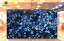 Blue Agate Slab, For Wall, Countertops