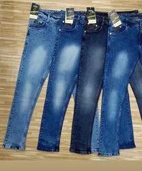 Plain Regular Fit Mens Jeans, Waist Size: 28 to 36
