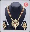 Kamba Arts Golden K9 Kundan Jewellery