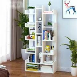 Kawachi Book Rack Wooden Corner Shelf, For Multipurpose, Size: Standard