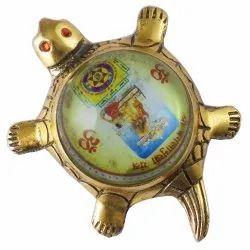 Eshoppee Shri Shree Baglamukhi Yantra On Metal Tortoise